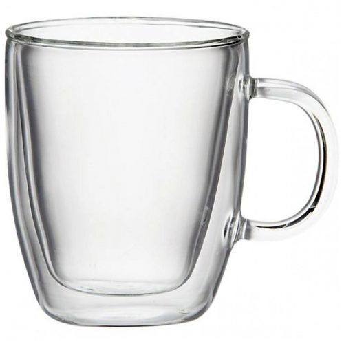 Bodum Bistro Double Wall Glass Mugs image