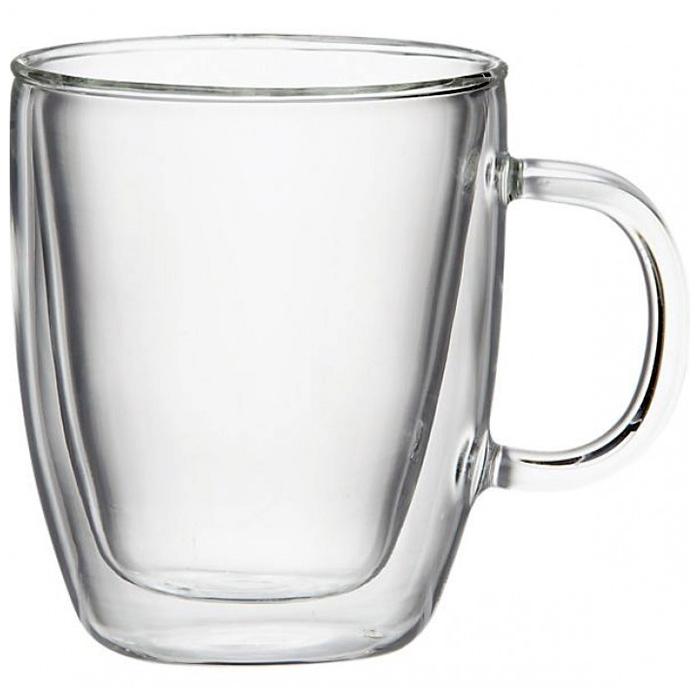 Bodum Bistro Double Wall Glass Mugs image
