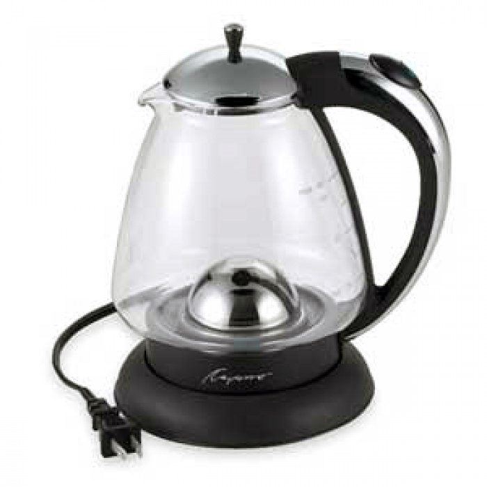 Capresso H20 Plus Glass Water Kettle With Chord image