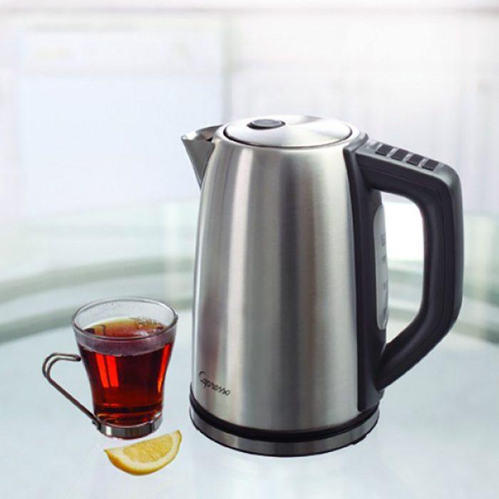 Capresso H20 Steel Plus Water Kettle Display image