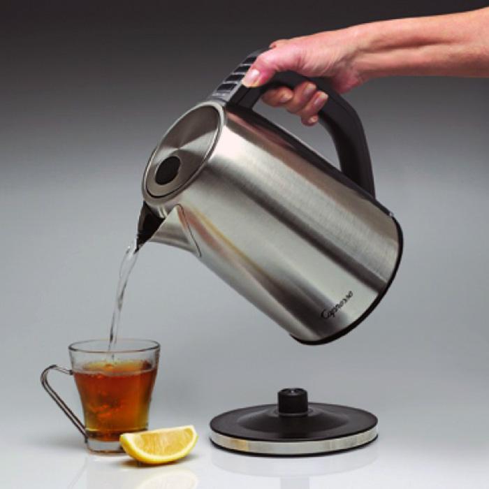 Capresso H20 Steel Plus Water Kettle Easy Pour image