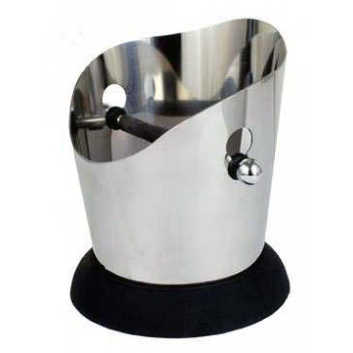 Stainless Steel Round Knock Box image